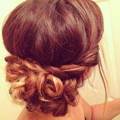 Bohemian updo #braids #messyhair #simplecutehair