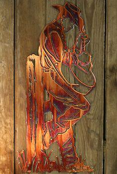 Strummin' Metal Wall Art