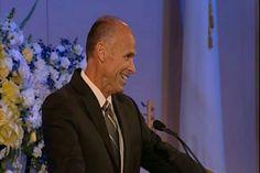 Chuck Smith Jr. shares memories of his dad Chuck Smith Senior at Calvary Chapel Costa Mesa Sunday morning memorial service.