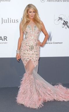 Paris Hilton from 2013 Cannes Film Festival: My first thought when I saw this was that this was more appropriate for Barbie than for an actual person