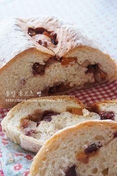 [통밀 후르츠빵] 다이어트 빵/통밀 빵/100% 통밀빵 만들기 다이어트 중이라면 가장 먹고싶은 것 중 하나가 ...