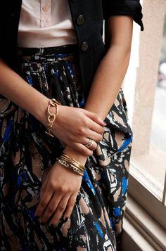 chic bracelet style