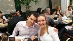 Érico Malagoli e Suzi Laine Gropelo, no Bar do Alemão de Itu em Jundiaí