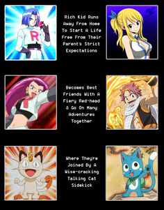 Pokemon and fairy tail