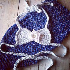 Ravelry: Star Flower Mermaid Bikini Top pattern by Crochet by Jennifer