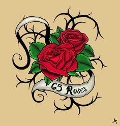 e5f19b3bb Cystic Fibrosis or 65 roses maybe something like this for my CF tattoo