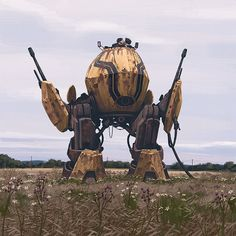 Incredible Futuristic Sci-Fi Art By Simon Stalenhag