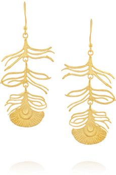 Kevia Gold-plated earrings | THE OUTNET