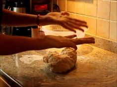 How to bake bread by hand, it's easy! Bread Making, How To Make Bread, Easy Video, It's Easy, Yummy Food, Baking, Eat, Delicious Food, Patisserie