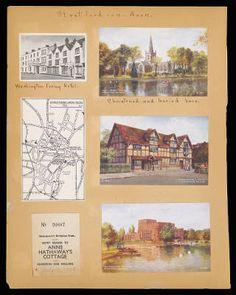 Althea Hurst scrapbook, 1938. Stratford-On-Avon