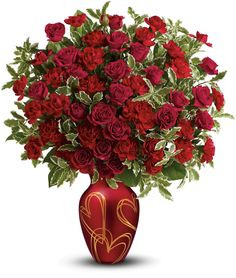For Valentine's make sure loved ones are told; that you cherish them and their Hearts of Gold Carnation Bouquet, Gold Bouquet, Mini Carnations, Red Rose Bouquet, Bouquet Flowers, Send Flowers, Cut Flowers, Fresh Flowers, Valentine Bouquet