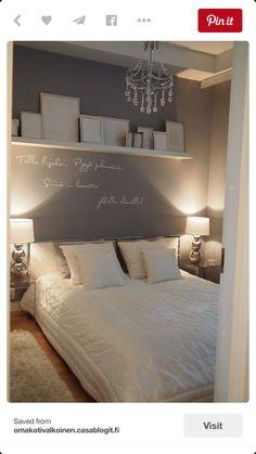 een rustgevende, gezellige slaapkamer, if only...