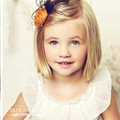 Cute little girl hair and clip