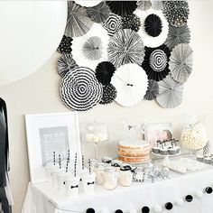 89 Best Black And White Party Decorations Images In 2019 Ideas