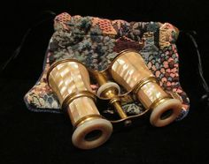 1800s Lemaire FI Paris Opera Glasses France Mother of Pearl Exquisite Near Mint…