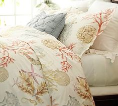 Atlantic Duvet Cover  Sham #potterybarn