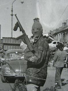 The Irish Republican Army.