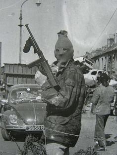 The Irish Republican Army.
