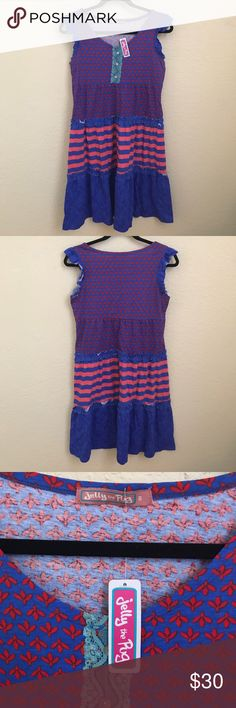 Jelly the Pug Matching Set Emeline dress. Mommy size small NWT. Girls 3T worn a few times. No pockets or zippers. Can be sold separately. jelly the pug Dresses