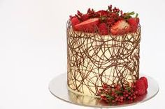 Image result for chocolate border cake