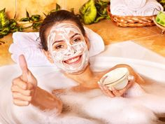 Yogurt Mask - Health - Skin - Skincare - Health & Skincare - Organic - Health & Beauty - Beauty Care - Skincare - Holistic Skincare - Holistic Beauty Products - Organic Beauty Products - Organic - Face - Face Reading - Tune into Your Spiritual Health at w Best Natural Face Mask, Natural Skin Care, Natural Health, Home Facial Treatments, Skin Tightening Mask, Organic Face Products, Skin Care Remedies, Natural Remedies, Homemade Skin Care