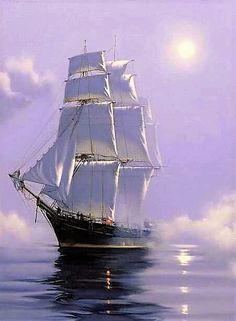 """L'Hermione"" Pirate Boats, Old Sailing Ships, Ship Drawing, Ship Paintings, Old Boats, Boat Painting, Wooden Ship, Tall Ships, Wallpaper"