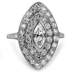 Platinum The Shaina Ring from Brilliant Earth