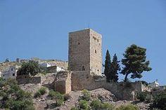 Castillo de Martos Jaen . Spain .