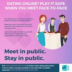 List five tips for dating safely