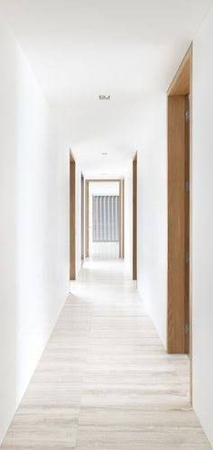 we love the way these doors provide an accent piece as well as warmth to the house-- perhaps the kitchen to living room doorframe, as well as living room to bedroom seciton
