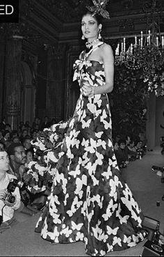 Janvier 1983. Haute couture été 1983. Getty Images.