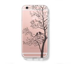 Love Birds Tree iPhone 6 Case, iPhone 6s Plus Case, Galaxy S6 Edge Case C031