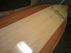 Stand Up Paddle Board by Heirloom Kayak.  Get your board or full size plans from heirloomkayak.com