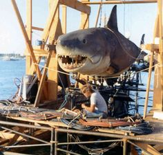 jaws the robot shark on flatbed - Google Search