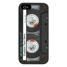 Custom Retro Cassette Tape iPhone 5 Case ($20) | The Mindful Shopper Gift Guide