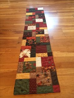 Disappearing Nine Patch Table Runner In Christmas Y Colors Table Runners Toppers Disappearing Nine Patch Quilted Table Runners Table Runner