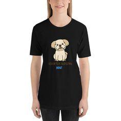SILENTLY JUDGING YOU! Short-Sleeve Unisex T-Shirt