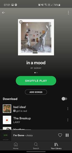 In a mood list Mood List, Playlist Ideas, Spotify Playlist, Lany, Breakup, Songs, Music, Musica, Breaking Up