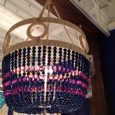amazing beaded chandelier
