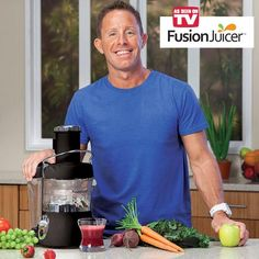 Fusion Juicer™ | Price: $119.98 | Guarantee: 45 Day Money-Back | #asseenontv #fusionjuicer #jasonvale