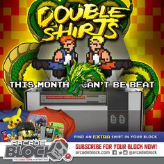 Arcade Block has announced an exciting subscription box spoiler for the Arcade Block March 2015 video game subscription box. The March 2015 Arcade Block will feature TWO video-game themed t-shirts. http://www.findsubscriptionboxes.com/a-closer-look/arcade-block-march-2015-box-spoilers-coupon/
