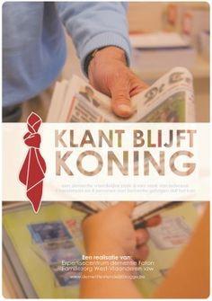 """""""Klant blijft Koning"""" - initiatief van winkeleigenaren in Brugge om demente ouderen welkom te laten voelen"""