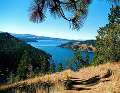 Top of mineral ridge hiking trail I love this view Places Around The World, Oh The Places You'll Go, Places To Travel, Around The Worlds, Vacation Destinations, Dream Vacations, Coeur D'alene, Beautiful Places To Visit, The Great Outdoors