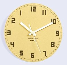 """JustNile Rustic Wooden 10"""" Non Ticking Wall Clock - Backwards In Time  #Backwards #Clock #JustNile #Rustic #RusticWallClock #Ticking #Time #Wall #Wooden The Rustic Clock"""