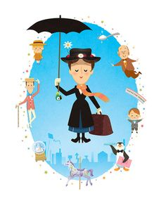 Mary Poppins by Jerrod Maruyama