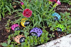 These Ladybug Painted Rocks are so easy to make and they look great. They will certainly bring your garden to life and everyone will love them!