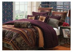 St. Petersburg 9 Piece Comforter Set