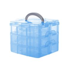Find More Jewelry Packaging & Display Information about New Arrival Plastic 3 floor detachable Portable Storage Container Organizer Tools Box Case,High Quality box cross,China box lock Suppliers, Cheap case kit from HOOBO on Aliexpress.com