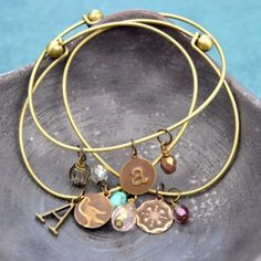 Learn to personalize your own charm bangles!