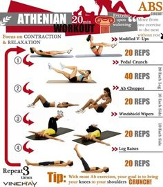 abs 20 minute workout!